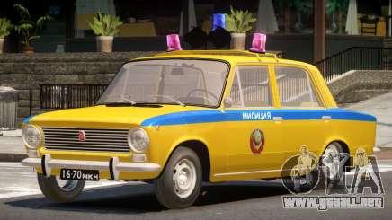 VAZ 2101 Police V1.0 para GTA 4