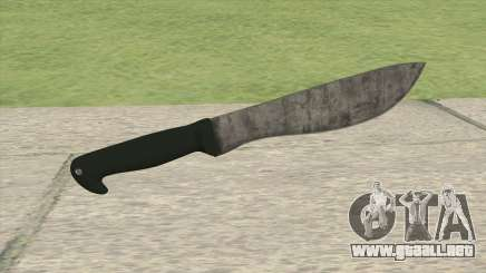 Machete (The Forest) para GTA San Andreas