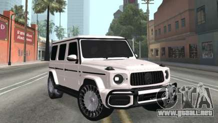 Mercedes-Benz G63 AMG White para GTA San Andreas