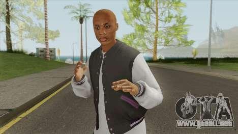 New Ballas Skin V2 (HD) para GTA San Andreas