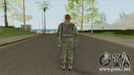New Army Skin (HD) para GTA San Andreas