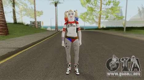 Harley Quinn (DC Comics Legends) para GTA San Andreas