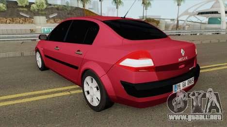 Renault Megane (Sedan) para GTA San Andreas