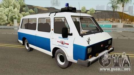 RAF 22038 (Policía Municipal) para GTA San Andreas