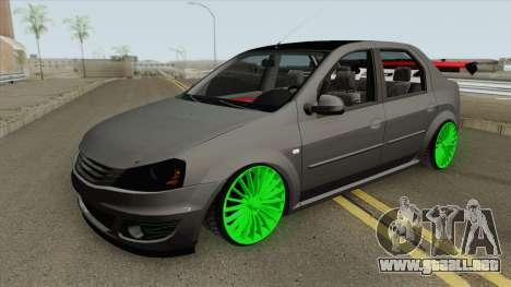 Dacia Logan (Drift) para GTA San Andreas