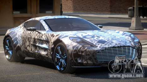 Aston Martin One-77 LS PJ1 para GTA 4