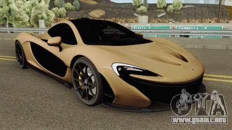 McLaren P1 (RHA) para GTA San Andreas