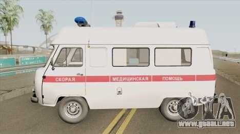 UAZ 3962 (Ambulancia) para GTA San Andreas
