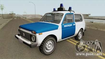VAZ 2121 (Policía) de 1994 para GTA San Andreas