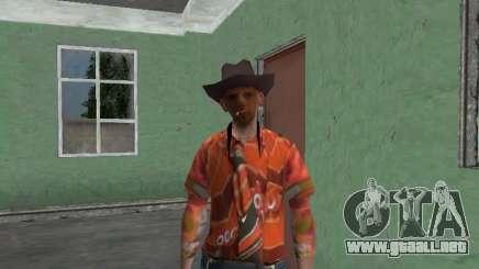 Nikolai Dobrynin (en el papel de Mitya Buhangin) v. 4 para GTA San Andreas