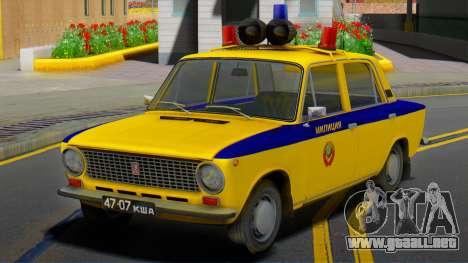 VAZ-21011 1978 la Policía para GTA San Andreas