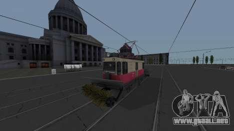 Tranvía GS-4 CRT de Limpieza para GTA San Andreas