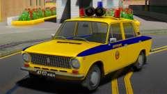 VAZ-21011 1978 la Policía
