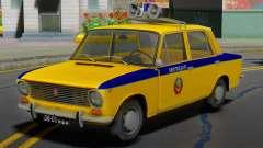 VAZ-2101 Soviética de la policía