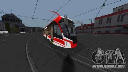 Tranvía 71-911EM León para GTA San Andreas