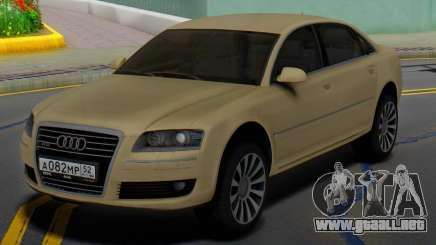 Audi A8 D3 para GTA San Andreas