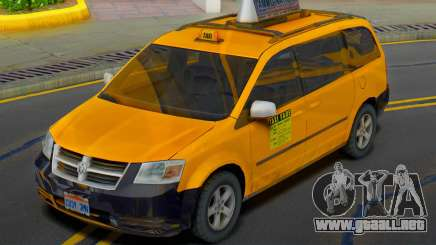 Dodge Grand Caravan 2009 Taxi para GTA San Andreas