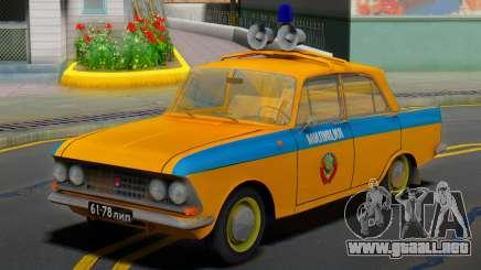 AZLK Moskvich 408 URSS Policía para GTA San Andreas