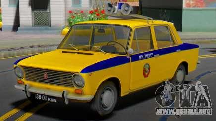 VAZ-2101 Soviética de la policía para GTA San Andreas