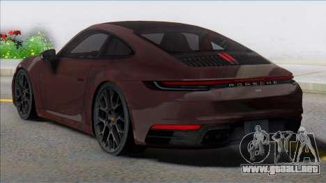 2019 Porsche 911 (992) Carrera para GTA San Andreas