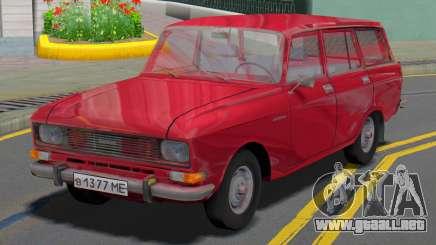 AZLK 2137 Wagon para GTA San Andreas