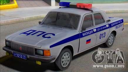 Gaz Volga 3102 DPS para GTA San Andreas