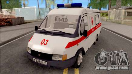 32214 La Gacela De La Ambulancia para GTA San Andreas
