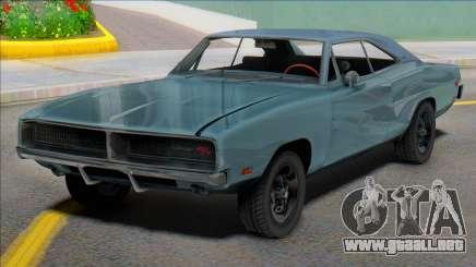 1969 Dodge Charger (renderhook) para GTA San Andreas