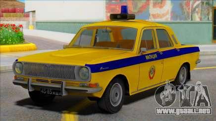 Gaz-24 Policía de Tráfico de la UrsS de la UrsS para GTA San Andreas