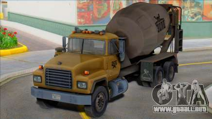 1992 Mack RD690 Cement Mixer Truck IVF para GTA San Andreas