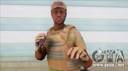 GTA Online Skin (army) para GTA San Andreas