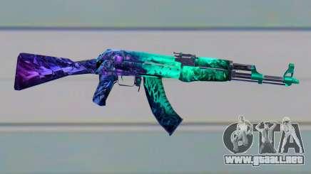 CSGO AK47 ILLusion para GTA San Andreas