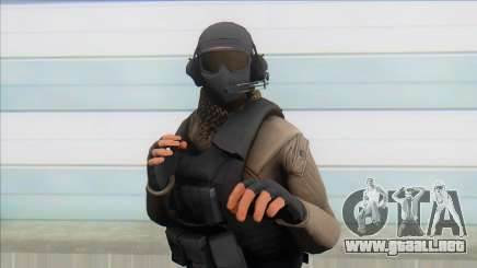 GTA Online Special Forces  v1 para GTA San Andreas