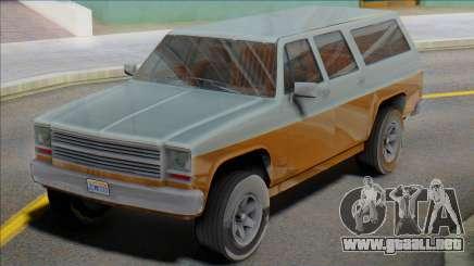 1976 Chevrolet Suburban (Rancher XL style) para GTA San Andreas