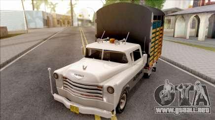 Chevrolet 3100 para GTA San Andreas