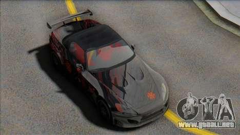 2001 Honda s2000 para GTA San Andreas