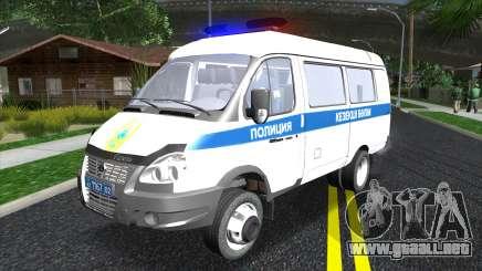 Gazelle Business Police de Kazajstán para GTA San Andreas