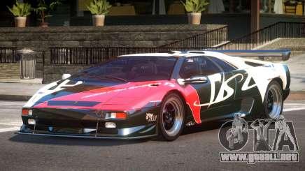 Lamborghini Diablo Super Veloce L7 para GTA 4