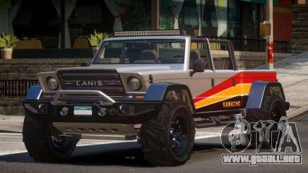 Canis Kamacho L4 para GTA 4