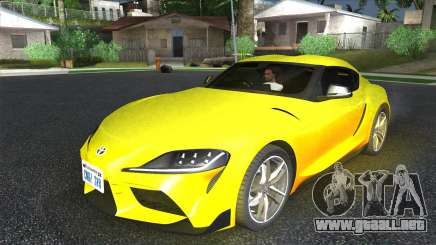 Toyota GR Supra para GTA San Andreas