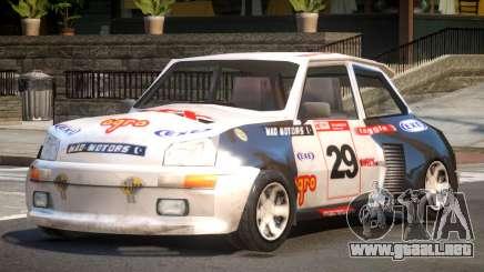 Rally Car from Trackmania PJ5 para GTA 4