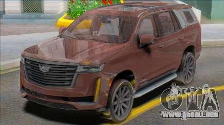 Cadillac Escalade 2020 para GTA San Andreas