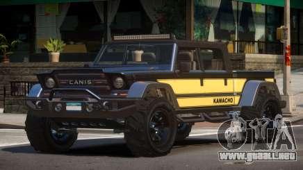 Canis Kamacho L6 para GTA 4