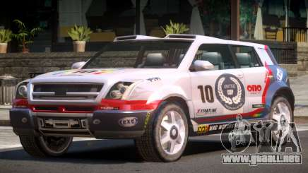 Bay Car from Trackmania United PJ3 para GTA 4