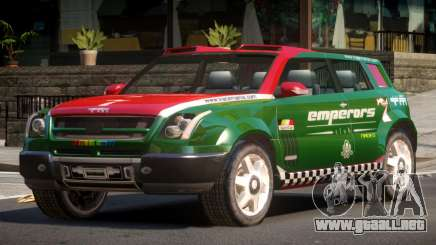 Bay Car from Trackmania United PJ5 para GTA 4