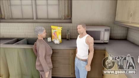 Mother of CJ at Home para GTA San Andreas