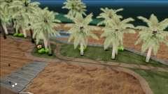 Realistic Beach in Los Santos 4K para GTA San Andreas