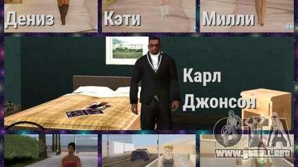 Las nuevas novias de Karl para GTA San Andreas
