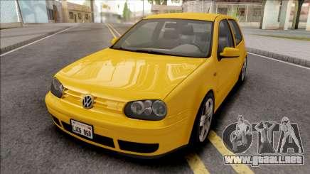 Volkswagen Golf GTI MK4 2001 para GTA San Andreas