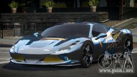 Ferrari F8 Tributo BS L5 para GTA 4